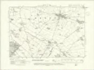 Yorkshire XXV.SW - OS Six-Inch Map