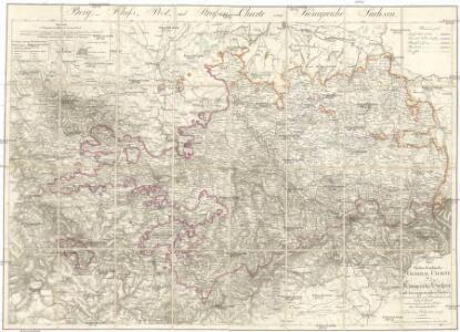 Oro-hydro-graphische general Charte von Königreiche Sachsen und den angrenzenden Ländern