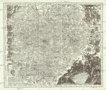 Das Nürenbergische Gebiet mit allen Nürnbergischen Hauptmannschafften