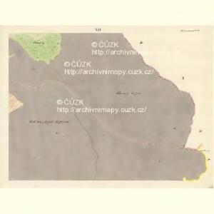 Horniemtsch - m0805-1-007 - Kaiserpflichtexemplar der Landkarten des stabilen Katasters