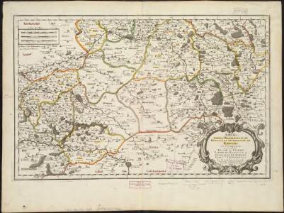Rhemi : Partie meridionale du dioecese, et archevesché de Rheims en Champagne