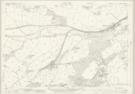Yorkshire CCLXXIV.14 (includes: Dodworth; Stainbrough; Thurgoland) - 25 Inch Map