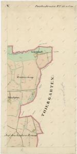 Katastrální mapa obce Pavlův Studenec WC-XVI-19 ce