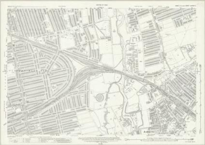 Essex (New Series 1913-) n LXXXVI.3 (includes: Barking; East Ham; Ilford) - 25 Inch Map