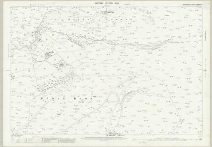 Devon LXXXVIII.14 (includes: Lydford; Petertavy) - 25 Inch Map