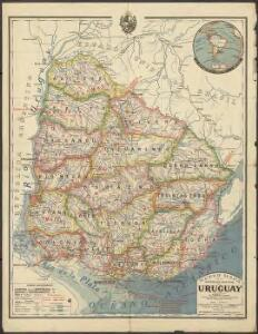 Nuevo Mapa de la Republica Oriental del Uruguay