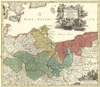 Tabula Marchionatus Brandenburgici Et Ducatus Pomeraniae