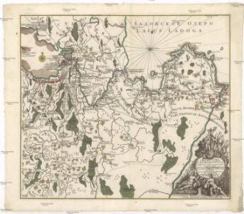 Ladožskoje ozero i Finskij zalip s prilěžaščimi městami