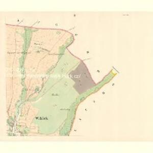 Wiklek - m3506-1-002 - Kaiserpflichtexemplar der Landkarten des stabilen Katasters