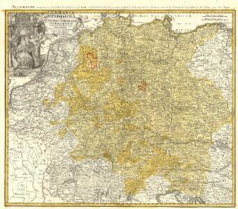 Allemagne, distinguée en ses Cercles & subdivisée en ses Etats