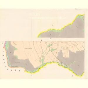 Linsdorf (Techowin) - c7882-1-008 - Kaiserpflichtexemplar der Landkarten des stabilen Katasters
