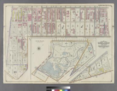 Part of Wards 9, 22 & 29. Land Map Sections, No. 4 & 6, Volume 1, Brooklyn Borough, New York City.