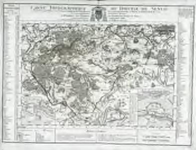 Carte topographique du diocese de Senlis