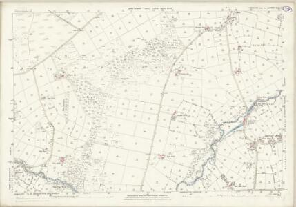 Yorkshire CLIII.1 (includes: Dacre; Menwith With Darley; Thornthwaite With Padside) - 25 Inch Map
