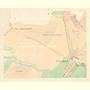 Czeitsch - m0360-1-002 - Kaiserpflichtexemplar der Landkarten des stabilen Katasters