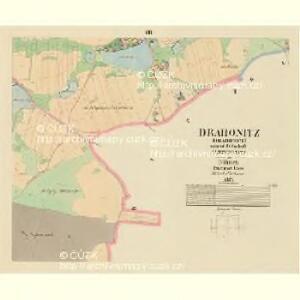 Drahonitz (Drahonice) - c1495-1-007 - Kaiserpflichtexemplar der Landkarten des stabilen Katasters