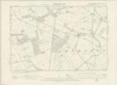 Nottinghamshire XLVII.NW - OS Six-Inch Map