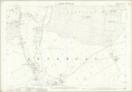 Wiltshire LI.16 (includes: Longbridge Deverill; Sutton Veny) - 25 Inch Map