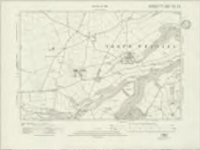 Gloucestershire LXXIV.SW - OS Six-Inch Map