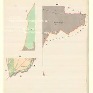 Glasdörf (Sklena Wes) - m2733-1-001 - Kaiserpflichtexemplar der Landkarten des stabilen Katasters