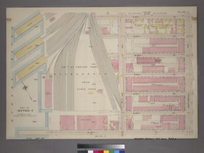 Plate 2, Part of Section 4: [Bounded by W. 65th Street,Amsterdam Avenue, W. 59th Street and (N.Y.C. & H.R.R.C.R. Union Stock Yards) West End Avenue.]