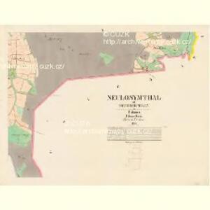 Neulosymthal - c2806-3-007 - Kaiserpflichtexemplar der Landkarten des stabilen Katasters