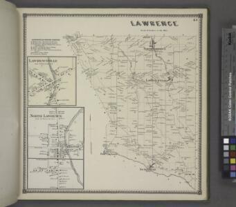 Lawrenceville Business Directory. ; Lawrenceville [Village]; North Lawrence [Village]; Lawrence [Township]