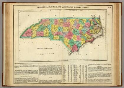 Map Of North Carolina.
