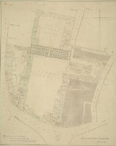Plan of the Great Mews, now Trafalgar Square