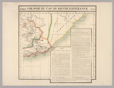 Cap de Bonne Esperance. Afrique 54.