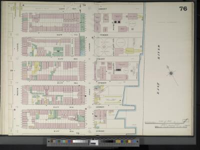 Manhattan, V. 4, Double Page Plate No. 76  [Map bounded by E. 42nd St., East River, E. 37th St., 2nd Ave.]