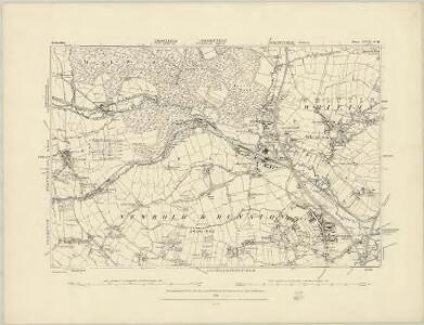 Derbyshire XVII.NE - OS Six-Inch Map