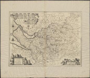 Cestria Comitatus Palatinus = The countye palatine of Chester