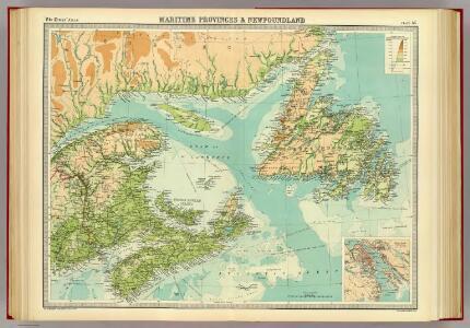 Maritime Provinces & Newfoundland.