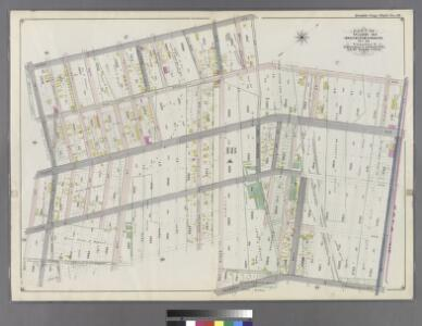 Part of Ward 30, Land Map Section, No. 18. Volume 2, Brooklyn Borough, New York City.