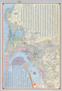 Shell Street Map of San Diego.