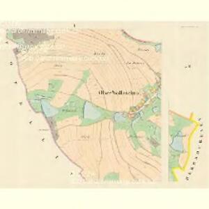 Ober Wolleschna (Zawisna Wollessna) - m0809-1-001 - Kaiserpflichtexemplar der Landkarten des stabilen Katasters