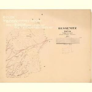 Bessenitz - c0135-1-002 - Kaiserpflichtexemplar der Landkarten des stabilen Katasters
