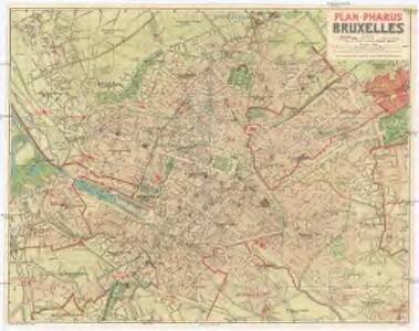 Plan-Pharus Bruxelles