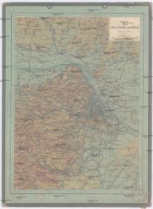 Karte der Umgebung von Wien