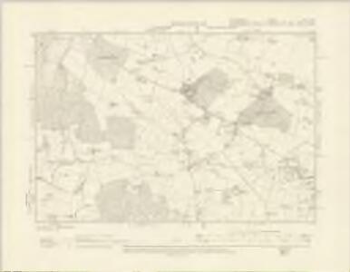 Shropshire XVII.NW - OS Six-Inch Map
