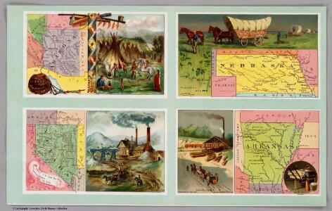Territory of Arizona, Nebraska, Nevada, Arkansas.