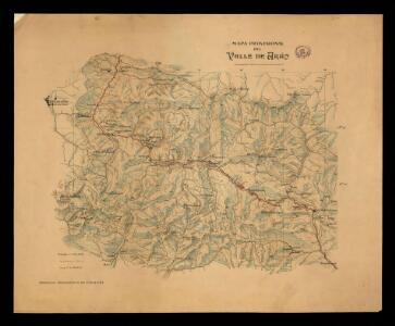 Mapa provisional del Valle de Arán / calculado, dibujado e impreso en cinco dias por el personal del S.G.