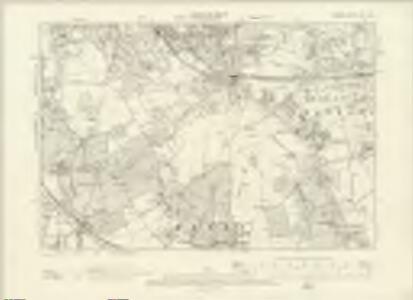 London XVI.SW - OS Six-Inch Map