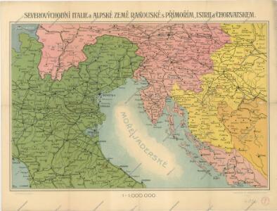Severovýchodní Itálie a alpské země rakouské