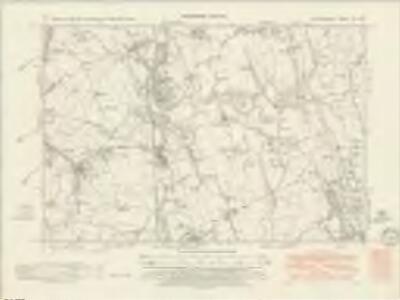Staffordshire VII.SW - OS Six-Inch Map