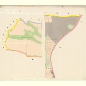 Nürschan (Newřowo) - c5338-1-002 - Kaiserpflichtexemplar der Landkarten des stabilen Katasters