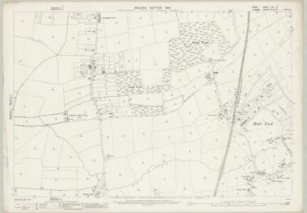 Essex (1st Ed/Rev 1862-96) LXV.6 (includes: Chingford; Walthamstow) - 25 Inch Map