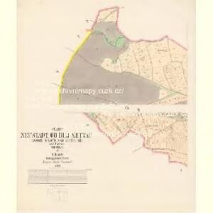 Neustadt o.d.Mettau (Nowé Město n.Meth.) - c5281-1-004 - Kaiserpflichtexemplar der Landkarten des stabilen Katasters