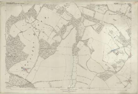 Berkshire XLI.6 (includes: Little Bedwyn; Shalbourne) - 25 Inch Map